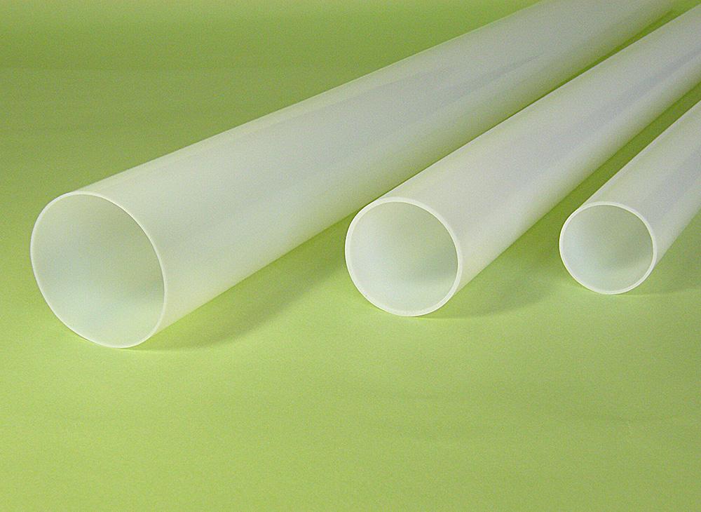 Large diameter PTFE straight tube