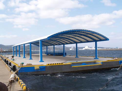 Matsuura Fishig Port / float bridge