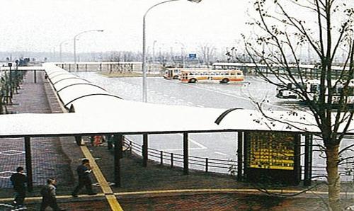 Bus Terminal at Seishin-chūō Station