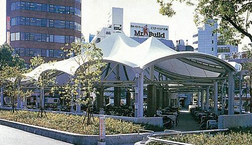 JR Kobe Station / cycle park